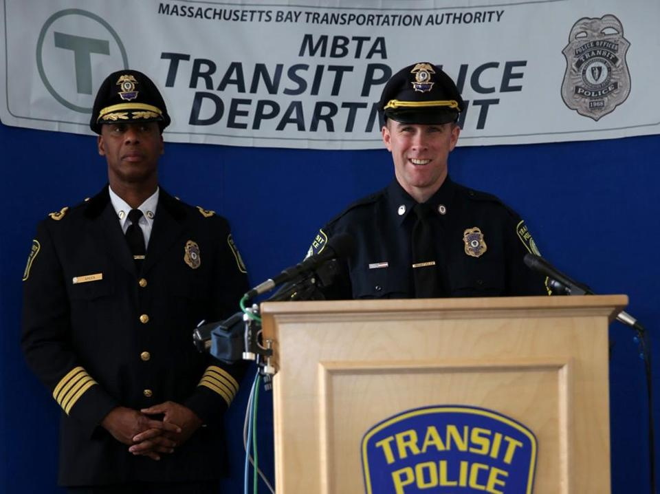 transit police officer richard donohue rejoins force and is promoted rh bostonglobe com WMATA Police Station Metro Transit Police Emblem